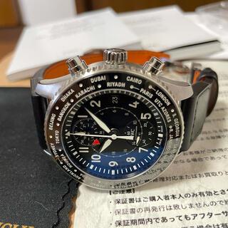 インターナショナルウォッチカンパニー(IWC)の超キレイ iwc395001 タイムゾーナークロノグラフ(腕時計(アナログ))