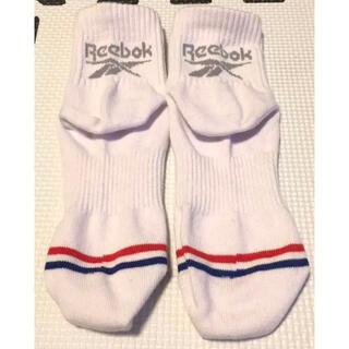 リーボック(Reebok)のReebok トリコロール レディース 靴下 22〜24cm(ソックス)