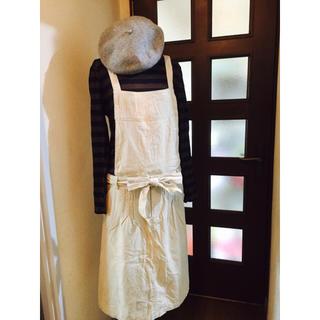 シャンブルドゥシャーム(chambre de charme)のシャンブルドゥシャームにて購入。モーニングカーム 2WAYサロペットスカート(サロペット/オーバーオール)