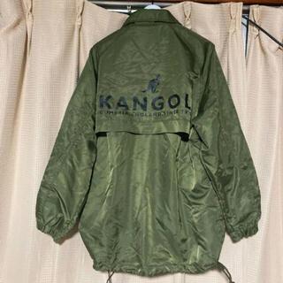カンゴール(KANGOL)のKANGOL  ナイロンジャケット Mサイズ カーキ(ナイロンジャケット)