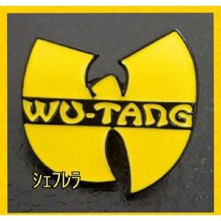 汎用性抜群★ Wu-Tang Clan ウータン クラン ロゴピンバッジ(キャップ)