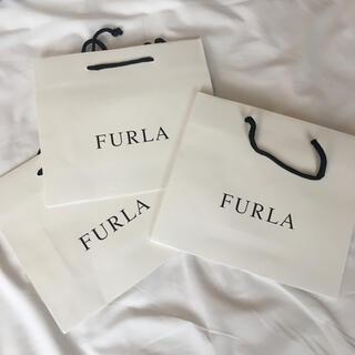 新品 フルラ FURLA ショッパー 紙袋 ショッピングバッグ ショップ袋