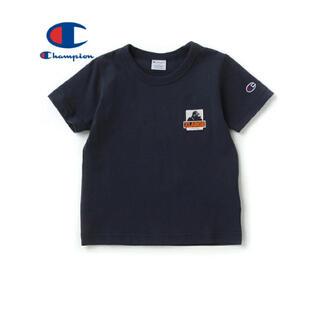 エクストララージ(XLARGE)のエクストララージキッズ Championコラボ OGゴリラ 半袖 110(Tシャツ/カットソー)