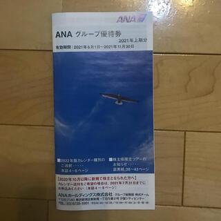 エーエヌエー(ゼンニッポンクウユ)(ANA(全日本空輸))のANAグループ優待券 冊子1冊(その他)