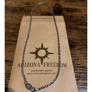 アリゾナフリーダム(ARIZONA FREEDOM)のtesoro様専用アリゾナフリーダム  小豆チェーン細 50cmチェーン(ネックレス)