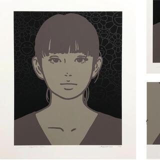 【KYNE】Untitled:R(版画)