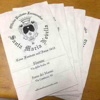 サンタマリアノヴェッラ(Santa Maria Novella)のサンタマリアノヴェッラ  紙袋 5枚(ショップ袋)