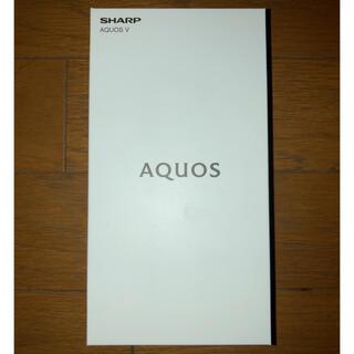 アクオス(AQUOS)の【値下げ】AQUOS V スマホ simフリー グローバル版 Android(スマートフォン本体)