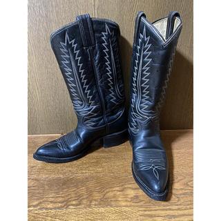 トニーラマ(Tony Lama)のTony Lama ウエスタンブーツ ブラック 23〜23.5cm(ブーツ)
