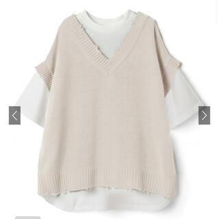 グレイル(GRL)のベストドッキングTシャツ(Tシャツ/カットソー(半袖/袖なし))