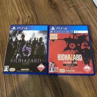 プレイステーション4(PlayStation4)のバイオハザード6 バイオハザード7(家庭用ゲームソフト)