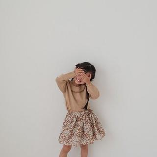 キャラメルベビー&チャイルド(Caramel baby&child )の最終値下げ june little closet 女の子スカート90(スカート)