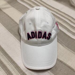 アディダス(adidas)のadidas ゴルフ キャップ 帽子 白(その他)