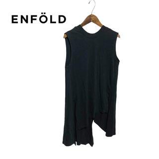 エンフォルド(ENFOLD)の【ENFOLD】デザインノースリーブ(Tシャツ(半袖/袖なし))