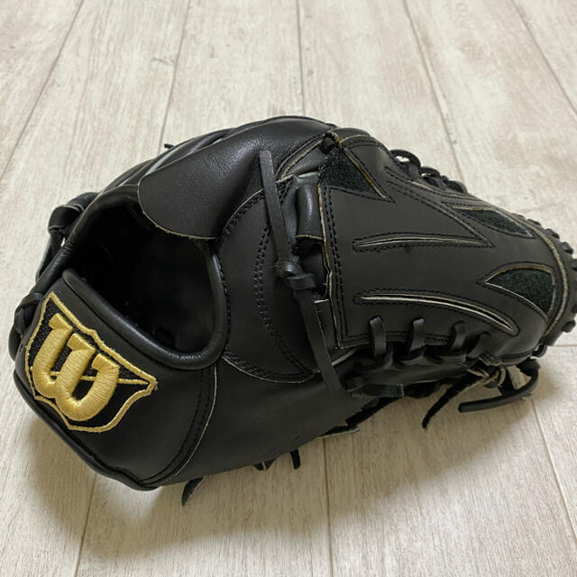 wilson(ウィルソン)の堀パパ様専用 ウィルソン D-MAX  軟式グラブ 軟式グローブ スポーツ/アウトドアの野球(グローブ)の商品写真