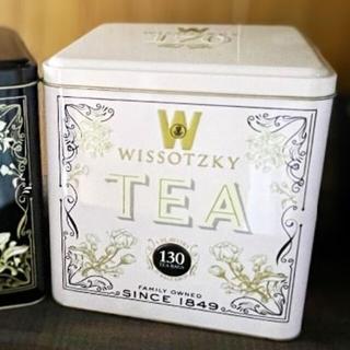 ピンク缶 WISSOTZKY TEA フレーバーティー ギフト 130袋(茶)