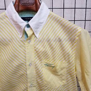 トミー(TOMMY)の日本製 TOMMY Multi Stripe S/S Shirt(シャツ)