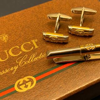 Gucci - グッチ GUCCI ヴィンテージ タイピン カフス セット