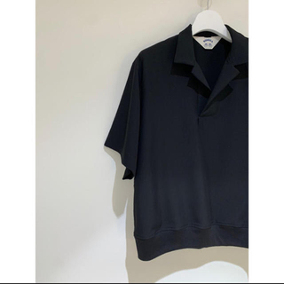 サンシー(SUNSEA)のSUNSEA SNM-BLUE2 POLO Shirt   (ポロシャツ)