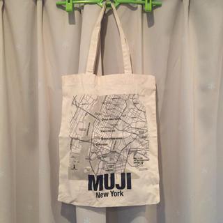 ムジルシリョウヒン(MUJI (無印良品))の無印NYエコバッグ MUJI ニューヨーク限定(エコバッグ)