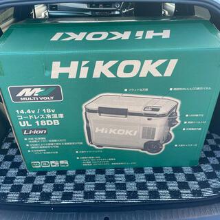 ヒタチ(日立)のHIKOKI コードレス冷温庫 UL18DB WMGフォレストグリーン(その他)