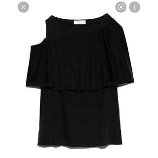 フレイアイディー(FRAY I.D)のセルフォード アシメフリルT(Tシャツ(半袖/袖なし))