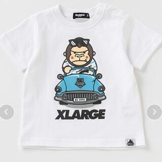 エクストララージ(XLARGE)の抗菌加工 ファニーゴリラオープンカーTシャツ 100(Tシャツ/カットソー)