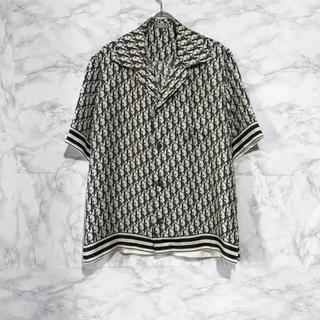 ディオール(Dior)のDior オブリーク シルクシャツ 開襟シャツ(シャツ)