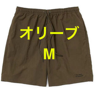 ワンエルディーケーセレクト(1LDK SELECT)のEnnoy エンノイ Nylon Shorts オリーブ M スタイリスト私物(ショートパンツ)