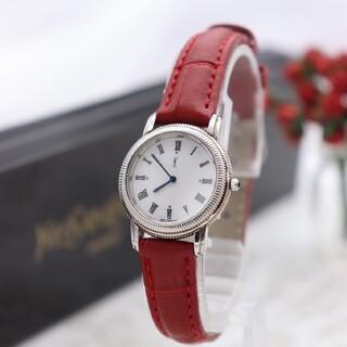 サンローラン(Saint Laurent)の箱付き【新品電池】YvesSaintLaurent/5421 動作良好 美品(腕時計)