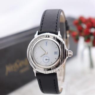 サンローラン(Saint Laurent)の正規品【新品電池】YvesSaintLaurent/B02 動作良好 美品(腕時計)