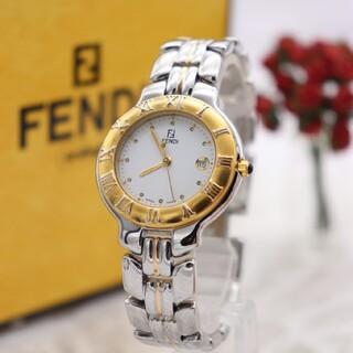 フェンディ(FENDI)の正規品【新品電池】FENDI 900J/動作品 ローマ数字 人気モデル ズッカ(腕時計)