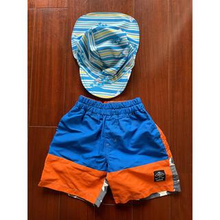 エフオーキッズ(F.O.KIDS)のエフオーキッズ 水着 ズボン 90サイズ スイムキャップ 男の子(水着)