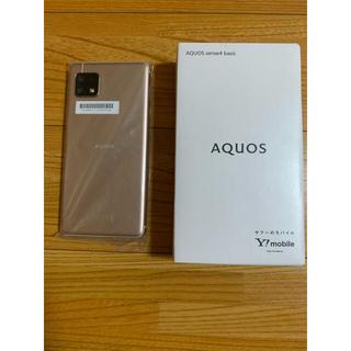 アクオス(AQUOS)のAQUOS sense4 basic(A003SH)Light Copper(スマートフォン本体)