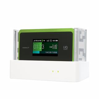 【ほぼ新品】WX06 クレードルセット UQ WiMAX2+ WX06(その他)