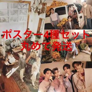 セブンティーン(SEVENTEEN)のSEVENTEEN Your Choice ポスター 4枚セット(アイドルグッズ)