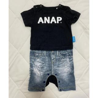 アナップキッズ(ANAP Kids)のANAP ロンパース 70(ロンパース)