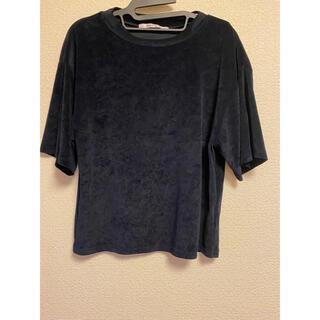 スコットクラブ(SCOT CLUB)のラシュッド ベロア生地 Tシャツ(Tシャツ(半袖/袖なし))