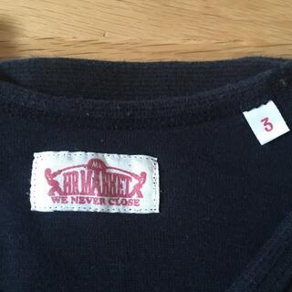 ハリウッドランチマーケット(HOLLYWOOD RANCH MARKET)の★ハリウッドランチマーケット★黒ロンT サイズ3(Tシャツ(長袖/七分))