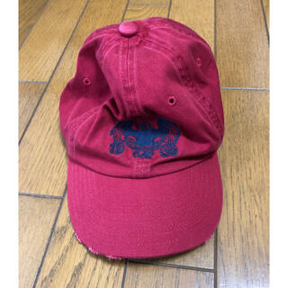 ギャップ(GAP)の★ナカジー様専用★ GAP 帽子 キャプ アンティーク加工 赤 レッド(キャップ)