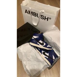 アンブッシュ(AMBUSH)のNike Ambush Dunk High Deep Royal(スニーカー)