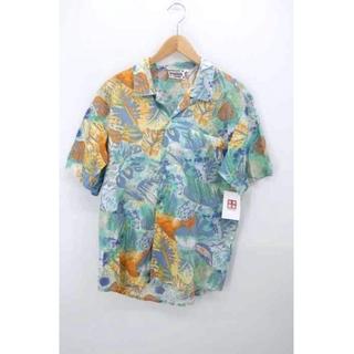 プーマ(PUMA)のPUMA(プーマ) 総柄オープンカラーシャツ メンズ トップス カジュアルシャツ(その他)