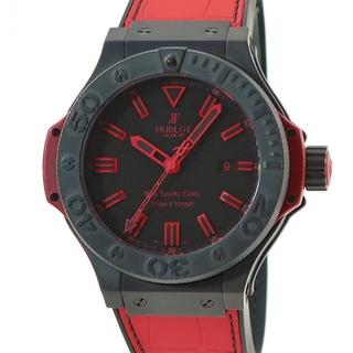 ウブロ(HUBLOT)のウブロ  ビッグバン キング オールブラックレッド 322.CI.113(腕時計(アナログ))