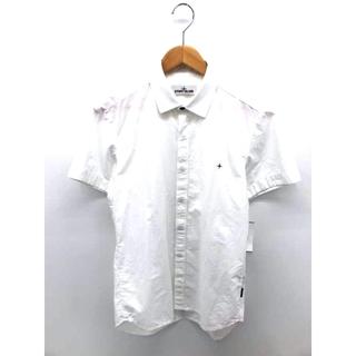 ストーンアイランド(STONE ISLAND)のSTONE ISLAND(ストーンアイランド) ワンポイント刺繍 ボタンシャツ(その他)
