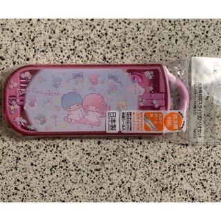 リトルツインスターズ(リトルツインスターズ)のキキララ☆箸&スプーン&フォークセット(弁当用品)