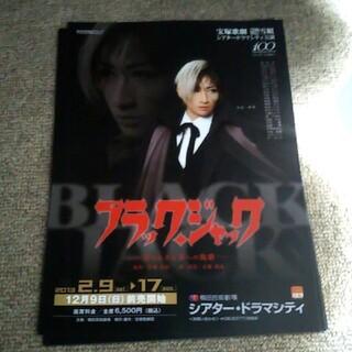 宝塚歌劇 雪組 ブラック・ジャック チラシ8枚(印刷物)