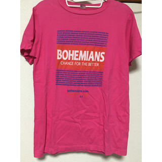 ボヘミアンズ(Bohemians)のボヘミアンズ Tシャツ ピンク 東京 目黒(Tシャツ/カットソー(半袖/袖なし))