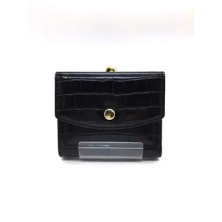 レガートラルゴ(Legato Largo)のlegato largo(レガートラーゴ) 型押し がま口財布 レディース(財布)