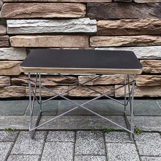 イームズ LTRT テーブル ローテーブル ミニテーブル サイドテーブル黒/銀(ローテーブル)