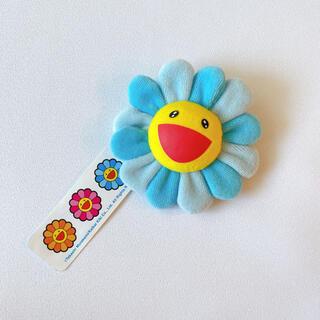 モマ(MOMA)の新品 村上隆 Flower Key chain フラワーキーチェーン ブルー(キャラクターグッズ)